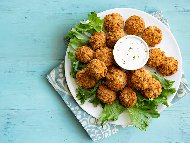 Фалафел - арабски вегетариански кюфтенца от нахут